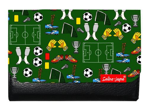 Selina-Jayne Football Limited Edition Designer Small Purse